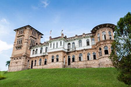 Abandoned Kellies Castle in Batu Gajah, Malaysia Editorial