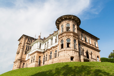 englishman: Abandoned Kellies Castle in Batu Gajah, Malaysia Editorial