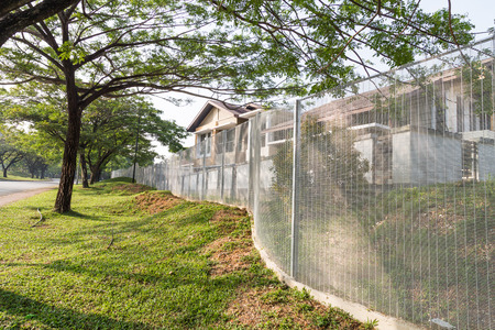 fence: BRC type fence is gaining popularity as a security perimeter at residential and industrial areas.