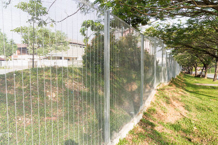 fencing wire: BRC type fence is gaining popularity as a security perimeter at residential and industrial areas.