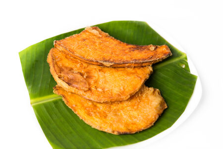 goreng: Fried sweet potatoes or keledek goreng, a popular snack in Malaysia