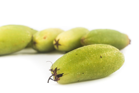 assam: Close up of the local carambola fruit, also known as buah belimbing assam or belimbing wuluh in Malaysia and Indonesia
