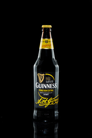 guinness beer: KUALA LUMPUR, February 24, 2015: Guinness Stout maintained its market leader position in Malaysia with 57% share in the stout segment of the beer market.  Guinness Stout is marketed by GAB Berhad Editorial