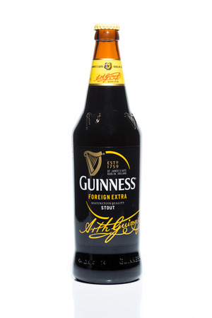 guinness beer: KUALA LUMPUR, February 24, 2015: Guinness Stout maintained its market leader position in Malaysia with 57% share in the stout segment of the beer market.  Guinness Stout is marketed by GAB Berhad. Editorial
