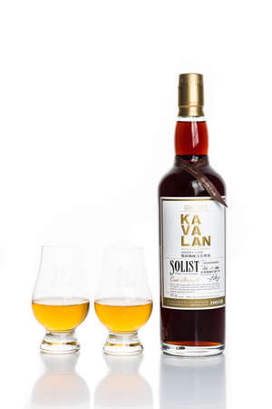 distillers: KUALA LUMPUR, February 24, 2015: Taiwan?s leading whiskey brand, Kavalan is now available in Malaysia at major liquor stores. Kavalan single malt whiskey is produced by King Car Group, one of the oldest distillers in Taiwan. Editorial