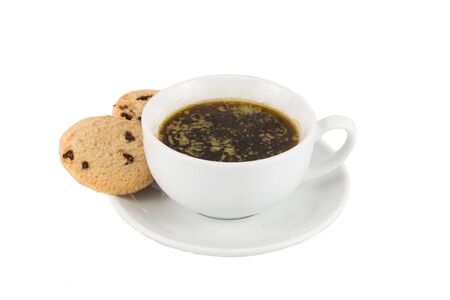 bulletproof: Black coffee with added butter, accompanied with butter cookie