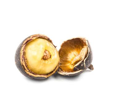 fijian: Brazilian longan fruit also known as Fijian Longan Stock Photo