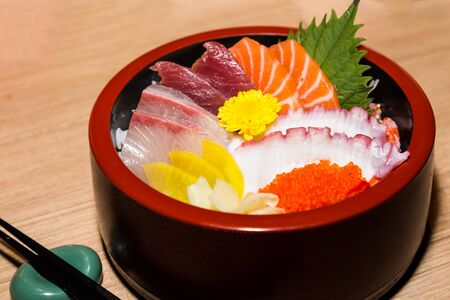delicacy: Japanese shiraishi raw seafood delicacy
