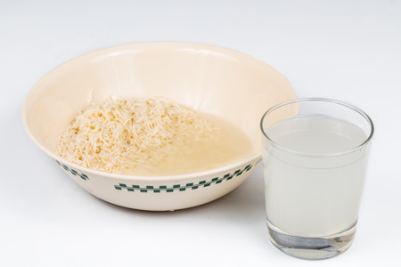 rinse: Rice rinse water can be used as natural plant fertilizer