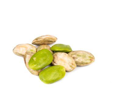 pungent: Primo piano di petai, un seme di amaro e piccante esotico popolare in Asia Archivio Fotografico