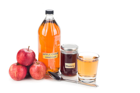 honey apple: Apple cider vinegar with honey, natural remedies and cures for common health condition