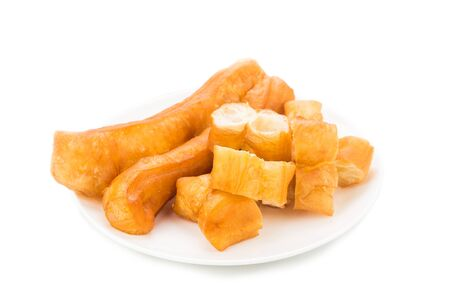 popularly: Fried bread stick or popularly known as You Tiao, a popular Chinese cuisine