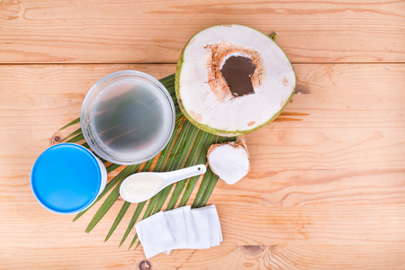 ageing: Coconut juice with yogurt helps reduce wrinkles and skin ageing when apply on skin