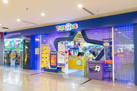 KUALA LUMPUR, MALAYSIA - January 29, 2017: Toys R Us an American toy and juvenile products retailer with store in Malaysia Editorial