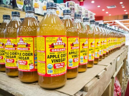 KUALA LUMPUR, MALAYSIA, 15. Februar: BRAGG Organic Apfelessig ist jetzt Marktführer im Premium-Acv-Marktsegment in Malaysia mit breitem Vertrieb.