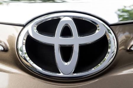 KUALA LUMPUR, MALAYSIA - August 12, 2017: Toyota Motor Corporation is a Japanese multinational automotive manufacturer headquartered in Toyota, Aichi, Japan.