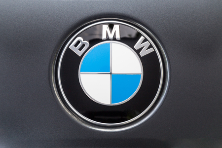 KUALA LUMPUR, MALAYSIA - August 12, 2017: BMW or Bayerische Motoren Werke AG, is a leading German luxury vehicle, sports car, motorcycle, and engine manufacturing company. Sajtókép