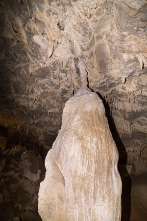 Various formations within Wind Cave chambers at Mulu National Park, Sarawak, Malaysia