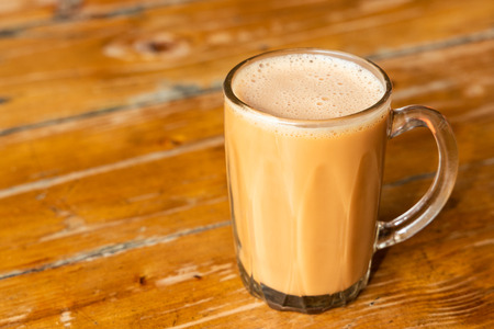 Teh tarik or pulled milk tea, popular drink in Malaysia for all occasions