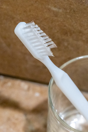 Cheap, low quality toothbrush with inferior bristle design unable to clean teeth throughly. Compromise proper oral care.
