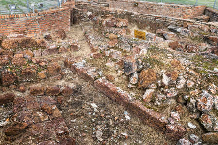 Historic victoria bastion ruins are the remaining of once Portuguese fortress in Malacca. Popular tourism destination. No people. 版權商用圖片