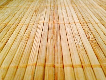 bamboo mat: Bamboo mat for the eco-living style. Stock Photo