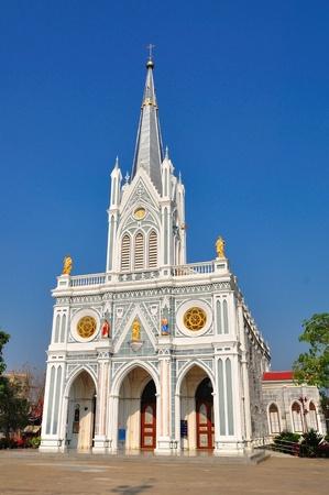 Christian chruch in Samutsongkram of Thailand.  It is called  photo