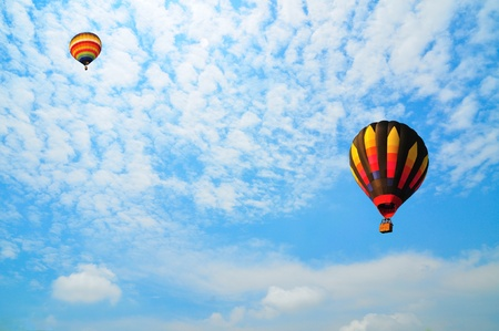 Balloon with blue sky Stock Photo - 9704014