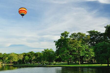 Balloon with blue sky Stock Photo - 9704033