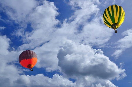 Balloon with blue sky Stock Photo - 9704074