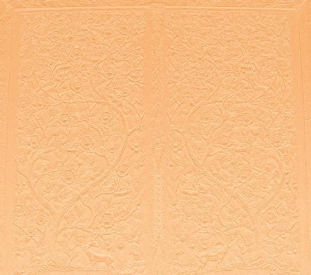 construction paper art: Pattern of Thai art on sandstone
