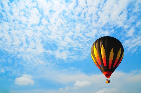 balloon with blue sky in Thailand. photo