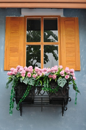 Europena style window Stock Photo - 10294155