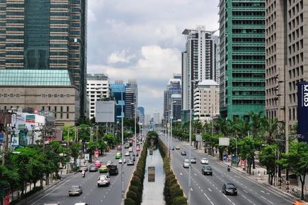 Sathorn, Street of Bangkok, Thailand