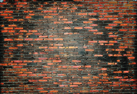 Grunge brick wall photo