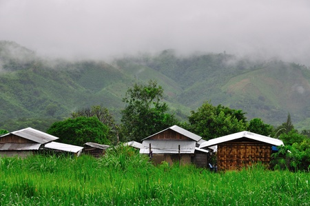 Village in Myanmar photo