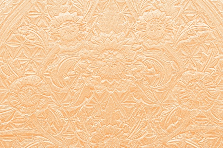 Pattern of Thai art on sand stone photo