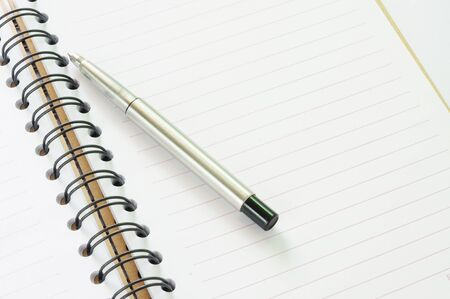 Notebook and pen in concept of business or education Stock Photo - 11378863