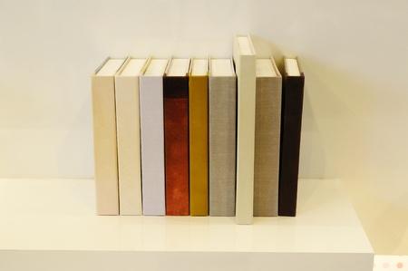 book shelf: Books on a shelf