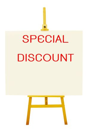 artboard: special discount on artboard with easel