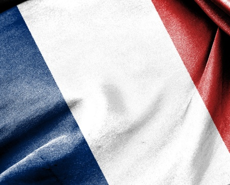 Flag of France suit for use as background Imagens