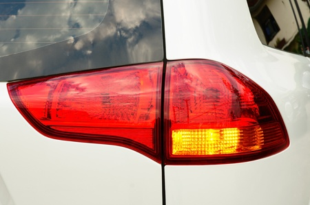 Rear car light photo