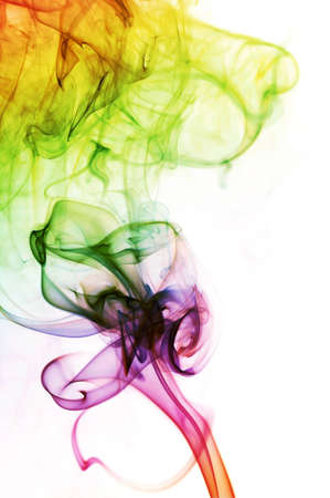 Abstract Colorful Smoke Background photo