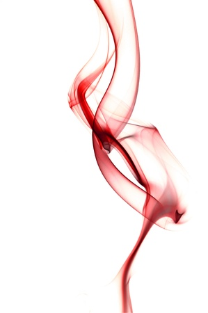 Abstract RED Smoke Background photo