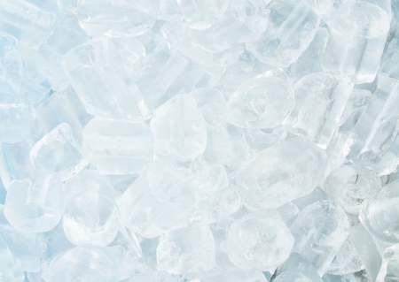 Close up of Ice cube  photo