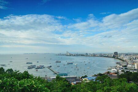 pattaya thailand: Scenic view of Pattaya city in Thailand