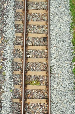 railway track: Top view of Railway