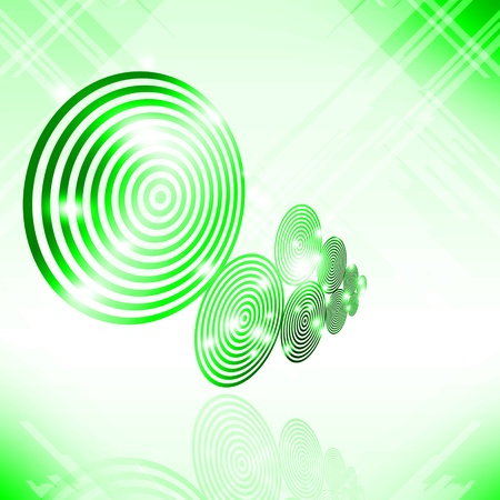 Abstract Disc background photo