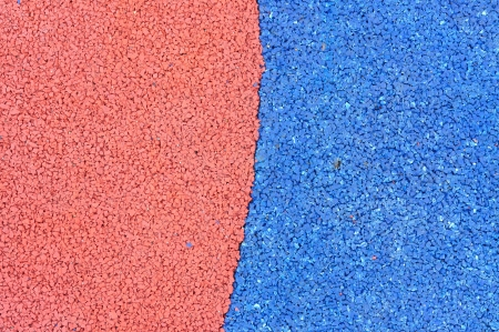 propylene: Texture of color rubber floor on playground. ( Ethylene Propylene Diene Monomeror EPDM) Stock Photo