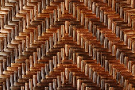 vintage weaving: Texture of bamboo weave, can be used for background  Stock Photo